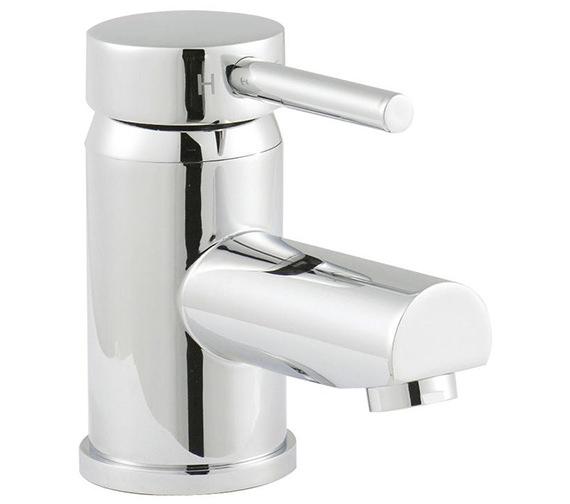 Lauren Quest Mono Basin Mixer Tap With Push Button Waste