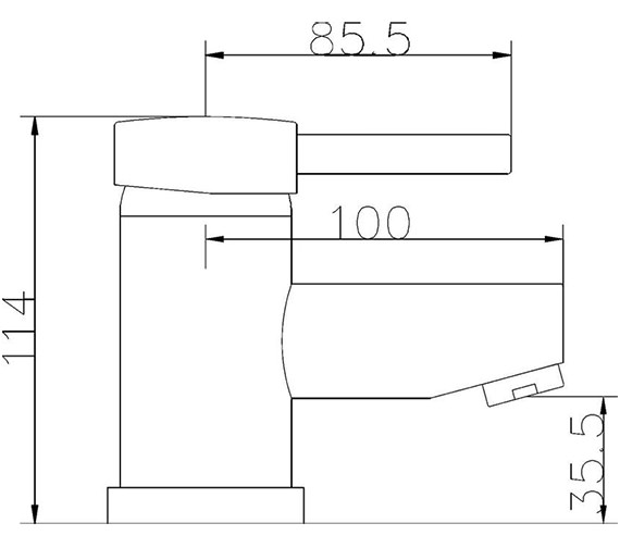 Technical drawing QS-V36061 / QUE305