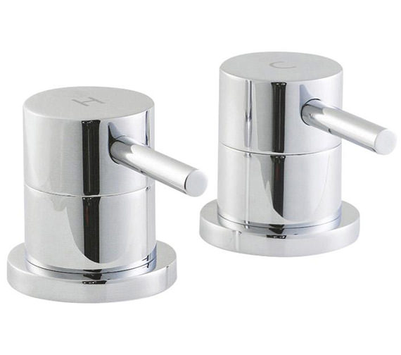 Lauren Quest Pair Of Side Valves For Freeflow Bath Filler Waste