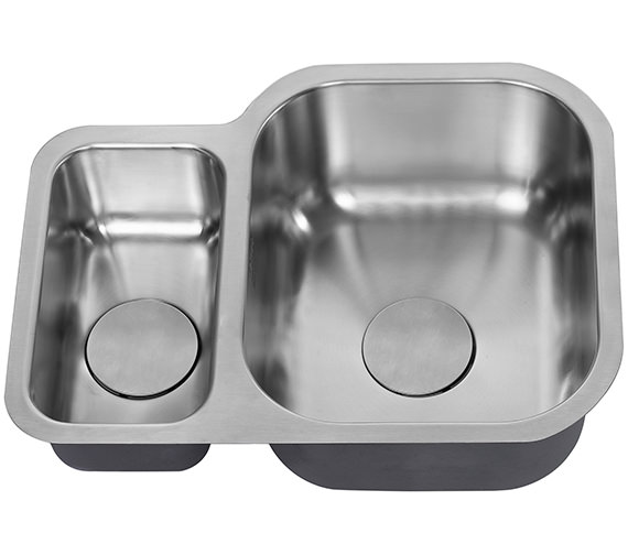 Additional image of 1810 Company Etroduo 589-450U BBR 1.5 Bowl Undermount Sink
