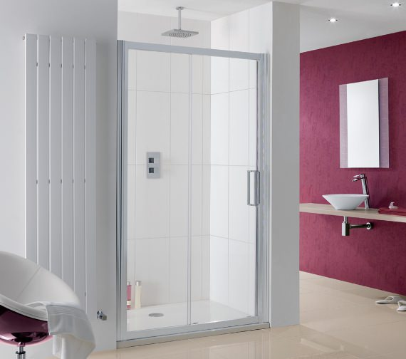 Lakes Coastline Talsi Sliding Shower Door 1000mm