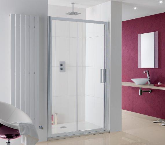 Lakes Coastline Talsi Sliding Shower Door 1400mm