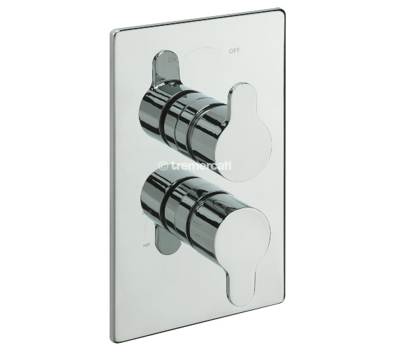 Tre Mercati Lollipop Concealed Thermostatic Shower Valve With 2 Way Diverter