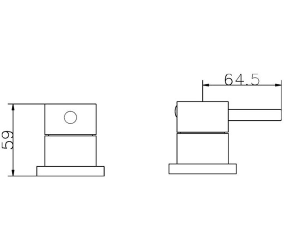 Technical drawing QS-V36062 / QUE308