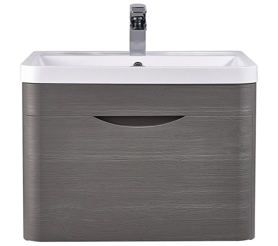 Lauren Eclipse 600mm Wall Hung Drawer Cabinet And Basin