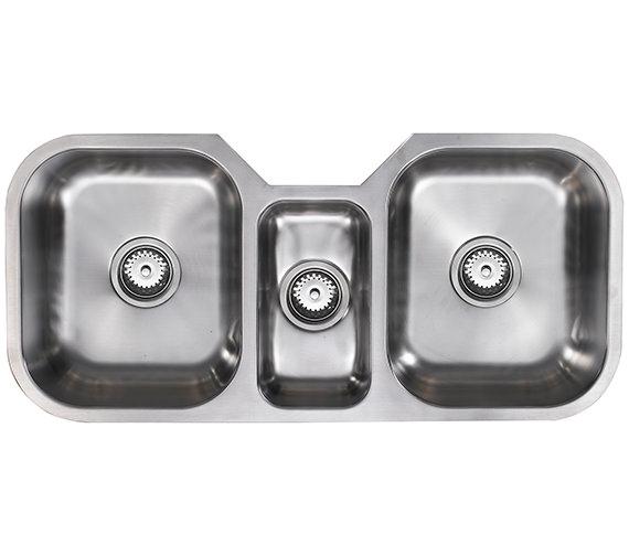 1810 Company Etrotrio 960-450U 2.5 Bowl Undermount Sink