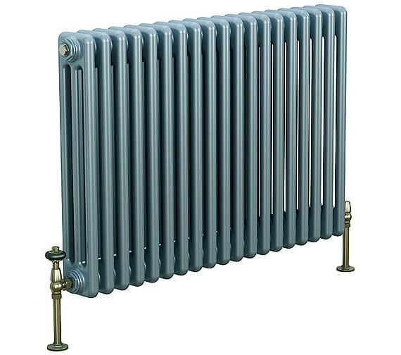 DQ Heating Peta 6 Column White Radiator 3 To 40 Sections