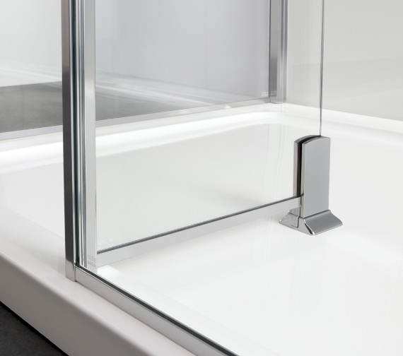 Additional image of Lakes Coastline Andora or Rhodes Walk-In Shower Panel 700 x 2000mm