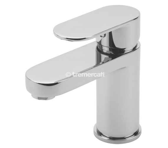 Tre Mercati Geco Mono Basin Mixer Tap With Click Clack Waste