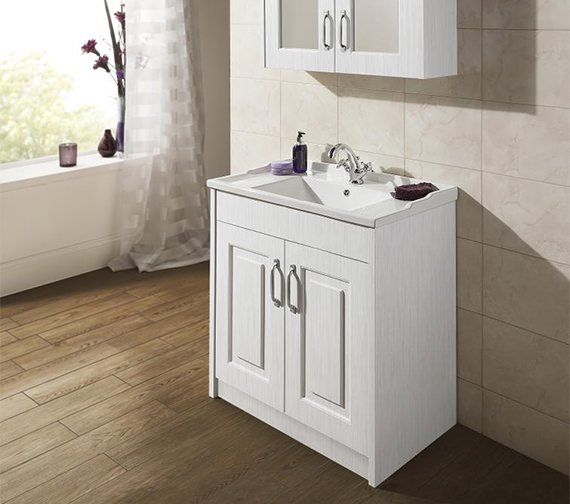 Nuie York Traditional Floor Standing Cabinet And Basin