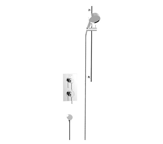 Heritage Somersby Concealed Thermostatic Shower Valve With Slide Rail Kit