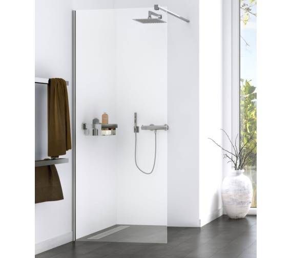 Aqualux Origin 900mm Walk-In Shower Panel