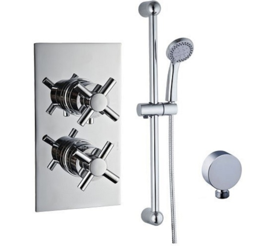 Mayfair Elena Concealed Thermostatic Shower Valve And Slide Rail Kit