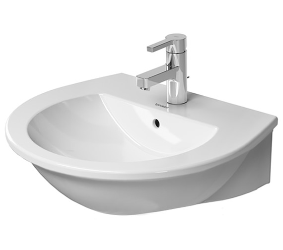 Duravit Darling New 550mm 1 Taphole Washbasin With Overflow