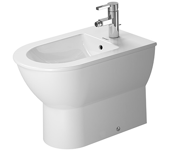 Duravit Darling New 370 x 570mm Floor Standing Back To Wall Bidet
