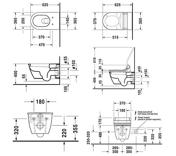 Technical drawing QS-V59281 / 2545090000