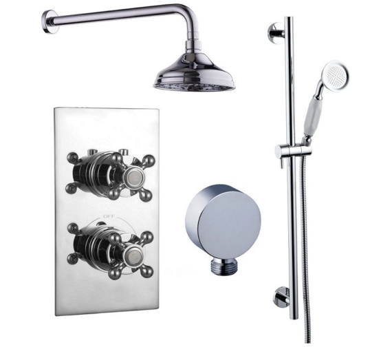 Mayfair Oxford Concealed Shower Valve With Diverter and Shower Kit