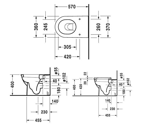 Technical drawing QS-V59282 / 2139090000
