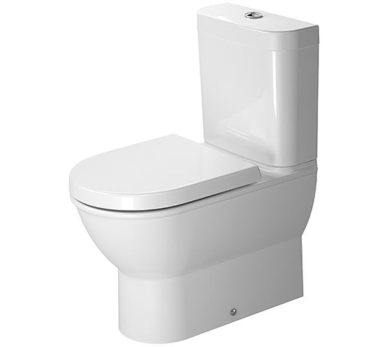 Duravit Darling New 370 x 630mm Close Coupled Toilet With Cistern