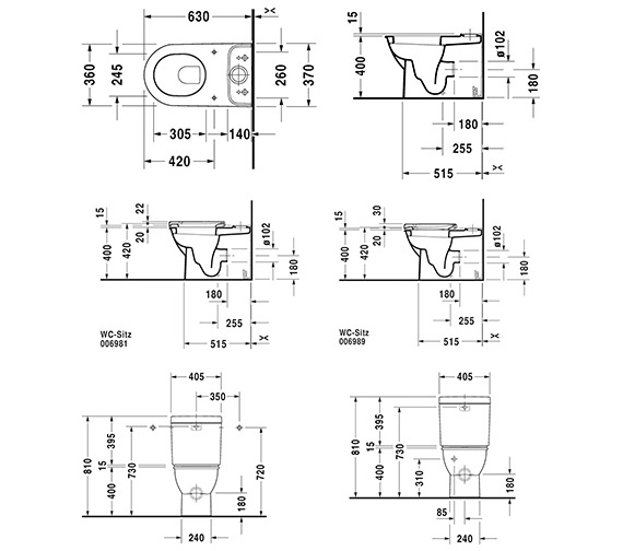 Technical drawing QS-V59286 / 2138090000