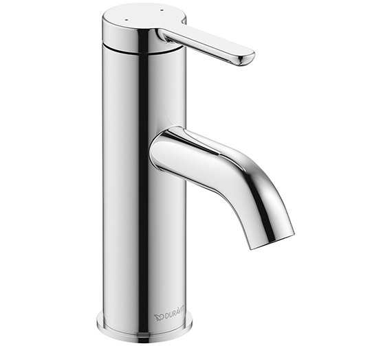 Duravit C.1 Single Lever 155mm Height Basin Mixer Tap