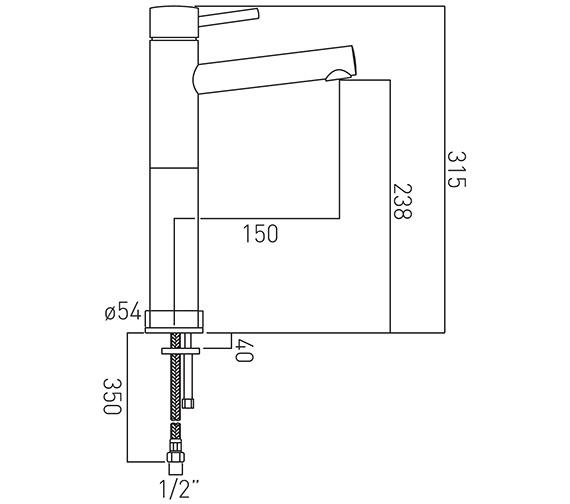 Technical drawing QS-V37171 / ZOO-100E/SB-C/P