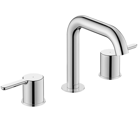 Duravit C.1 3 Hole Deck Mounted Basin Mixer Tap