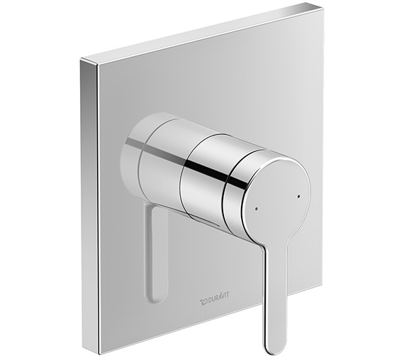 Duravit C.1 Square Concealed Manual Shower Mixer Valve