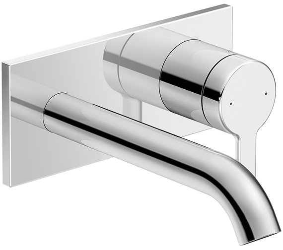 Duravit C.1 174mm Wall Mounted Single Lever Basin Mixer Tap