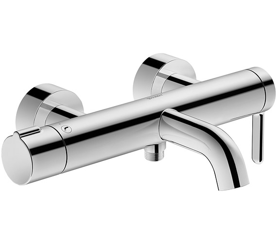 Duravit C.1 Exposed Wall Mounted Manual Bath-Shower Mixer Tap