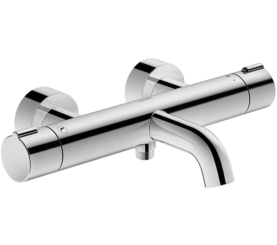Duravit C.1 Exposed Wall Mounted Thermostatic Bath-Shower Mixer Tap