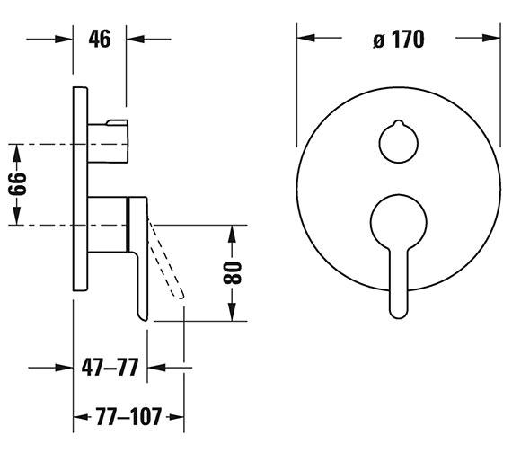 Technical drawing QS-V82649 / C15210012010