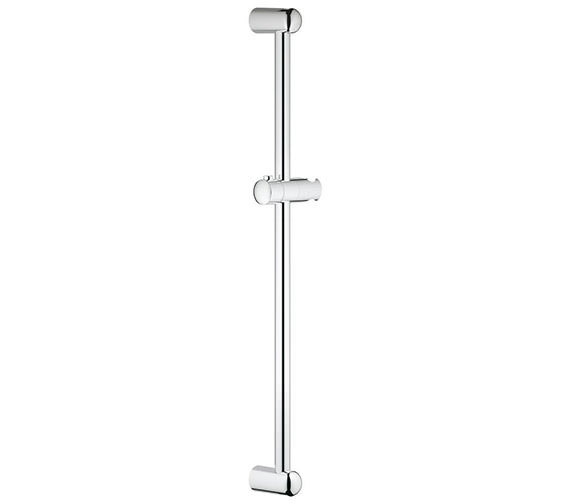 Grohe New Tempesta 600mm Shower Bar With Glider and Swivel Holder