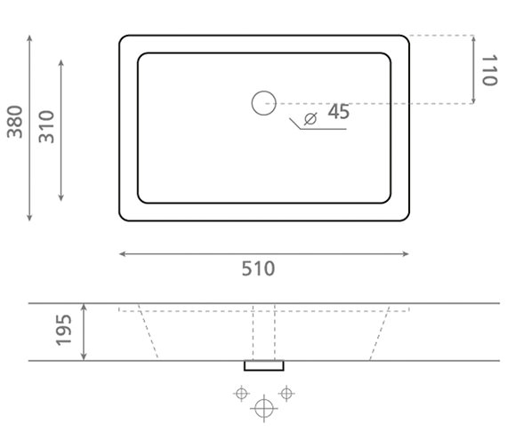 Technical drawing QS-V49183 / UM0051SCW