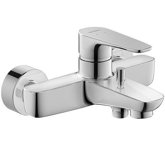 Duravit B.1 Single Lever Exposed Wall Mounted Manual Bath-Shower Mixer Tap