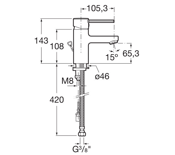Technical drawing QS-V60171 / 5A3260C0R