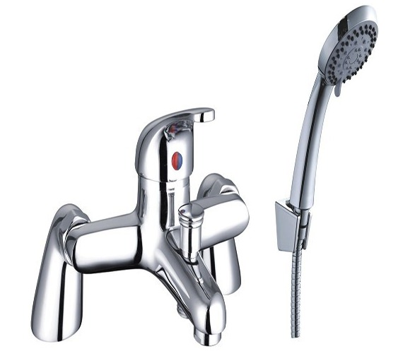 Mayfair Cosmic Bath Shower Mixer Tap With Shower Kit