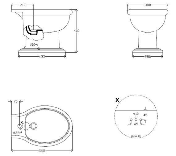 Technical drawing QS-V10350 / PVEW03