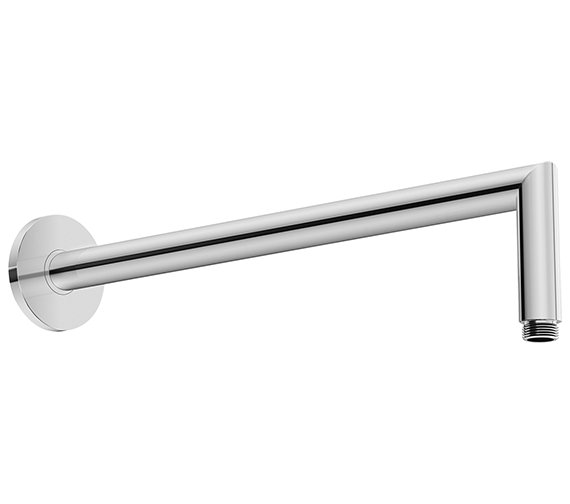 Duravit Wall Mounted Angled Shower Arm With Round Escutcheon
