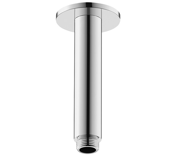 Duravit 125mm Ceiling Mounted Shower Arm With Round Escutcheon