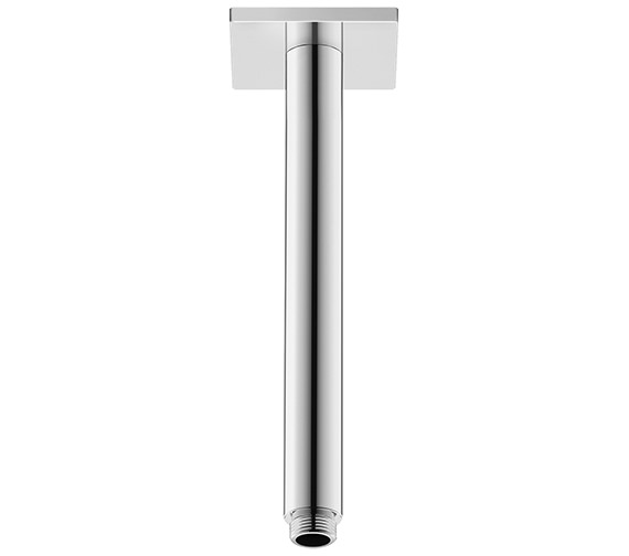 Duravit 225mm Ceiling Mounted Shower Arm With Square Escutcheon