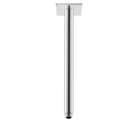 Duravit 325mm Ceiling Mounted Shower Arm With Square Escutcheon