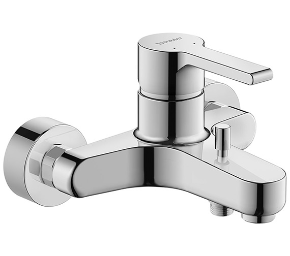 Duravit B.2 Single Lever Exposed Wall Mounted Manual Bath Shower Mixer Tap