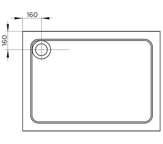 Technical drawing QS-V86004 / TR9-8070