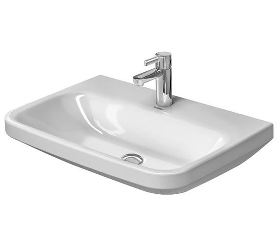 Duravit DuraStyle 650 x 440mm 1 Taphole Washbasin Med
