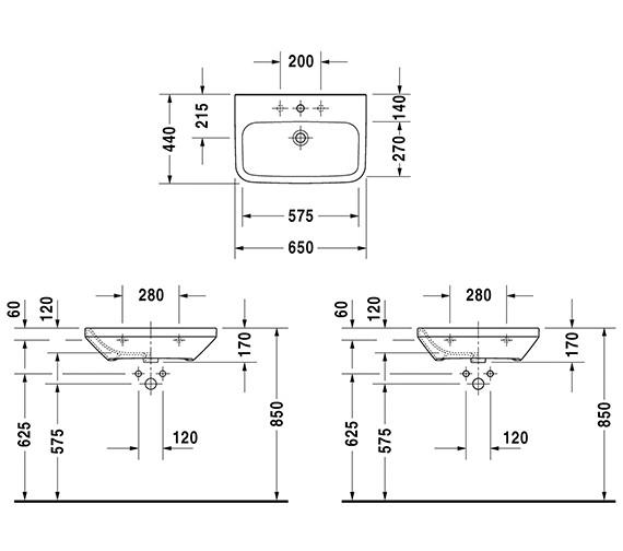 Technical drawing QS-V14479 / 2324650000