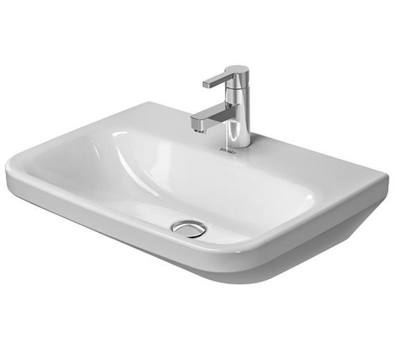 Duravit DuraStyle 600 x 440mm 1 Taphole Washbasin Med