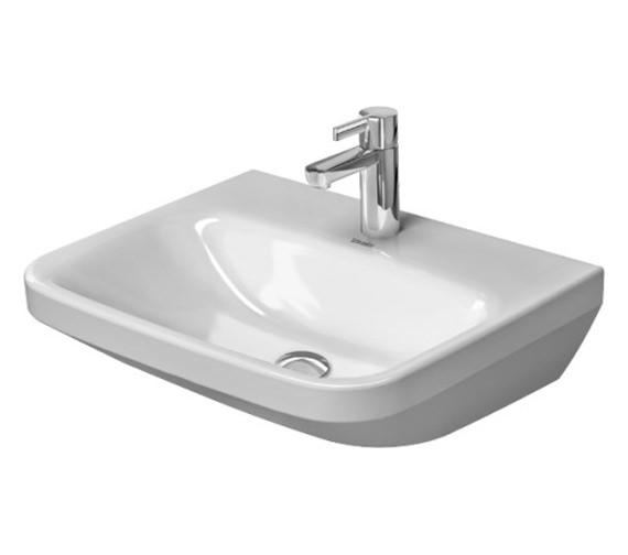 Duravit DuraStyle 550 x 440mm 1 Taphole Washbasin Med