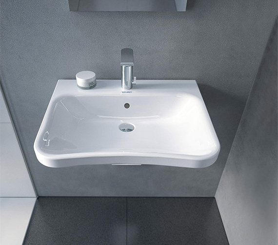 Duravit DuraStyle 650 x 570mm 1 Taphole Washbasin With Overflow
