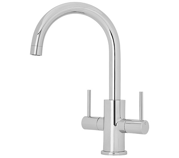 Nuie Two Handle Kitchen Sink Mixer Tap